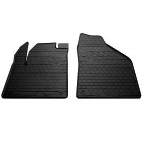 Передние автомобильные резиновые коврики Jeep Cherokee KL 2013- (1046022)