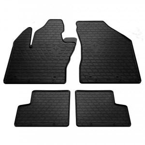Комплект резиновых ковриков в салон автомобиля Jeep Renegade 2014- (1046034)