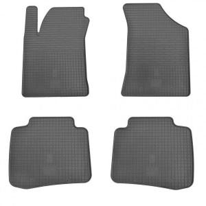 Комплект резиновых ковриков в салон автомобиля Kia Cerato I 2004- (1010044)