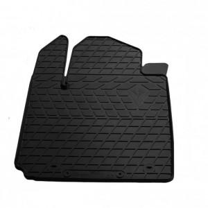 Водительский резиновый коврик Kia Picanto III 2016- (1010134 ПЛ)