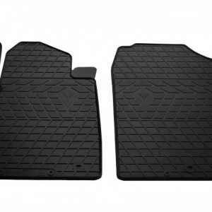 Передние автомобильные резиновые коврики Kia Picanto III 2016- (1010132)