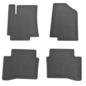 Комплект резиновых ковриков в салон автомобиля Kia Rio III 2011- (1009024)