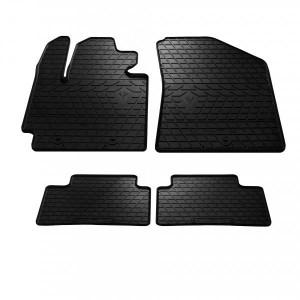 Комплект резиновых ковриков в салон автомобиля Kia Soul 2013- (1010074)