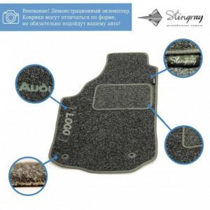 Комплект текстильных ковриков Stingray Ciak Black/Grey в салон автомобиля FIAT / DOBLO II NEW МКП 5м / 2010 (41206155)