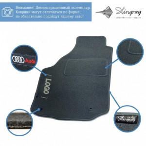 Комплект ворсовых ковриков Stingray Ciak Grey в салон автомобиля SKODA / SUPER B МКП SD / 2001-2008 (41320045)