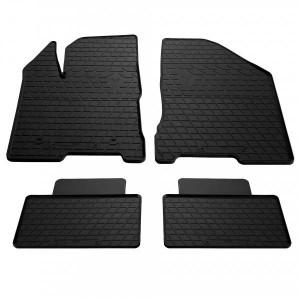 Комплект резиновых ковриков в салон автомобиля Lada Vesta 2015- (1036044)