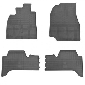 Комплект резиновых ковриков в салон автомобиля Lexus LX470 1998- (1022074)