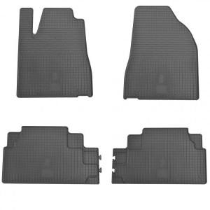 Комплект резиновых ковриков в салон автомобиля Lexus RX 4 (1028014)