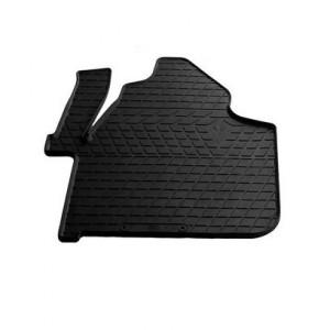 Водительский резиновый коврик Volkswagen Crafter (1+1) 2006- (1012323 ПЛ)