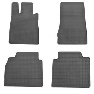 Комплект резиновых ковриков в салон автомобиля Mercedes W220 S (1012104)