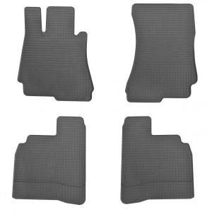 Комплект резиновых ковриков в салон автомобиля Mercedes W221 S (1012114)