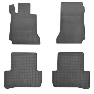 Комплект резиновых ковриков в салон автомобиля Mercedes Benz W204 C  X204 GLK (1012144)