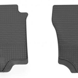 Передние автомобильные резиновые коврики Mitsubishi Outlander 2003-2007 (1013022)