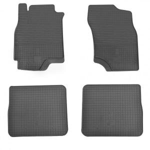 Комплект резиновых ковриков в салон автомобиля Mitsubishi Outlander 2003-2007 (1013024)
