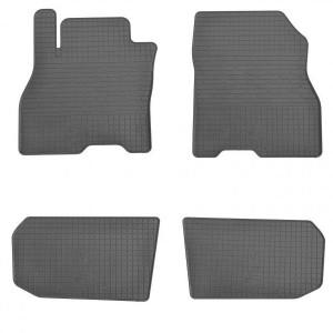 Комплект резиновых ковриков в салон автомобиля Nissan Leaf 2012- (1014094)