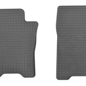 Передние автомобильные резиновые коврики Nissan Leaf 2012- (1014092)