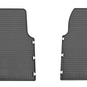 Комплект резиновых ковриков в салон автомобиля Nissan Primastar 2001- (1018153)