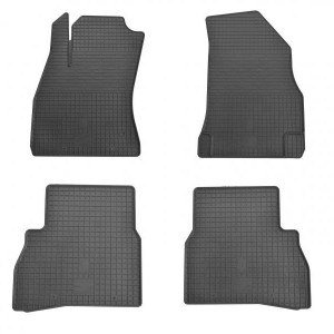 Комплект резиновых ковриков в салон автомобиля Opel Combo D (1006154)