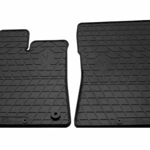 Передние автомобильные резиновые коврики Citroen Berlingo 2018- (овальная клипса) (1016262)