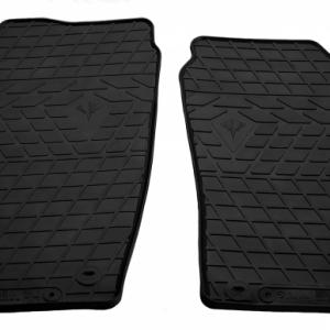 Передние автомобильные резиновые коврики Skoda Roomster 2006-2015 (1020162)