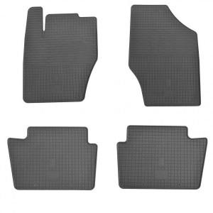 Комплект резиновых ковриков в салон автомобиля Peugeot 208 2013- (1016014)