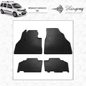 Комплект резиновых ковриков в салон автомобиля Renault Kangoo 2008- (1018174)