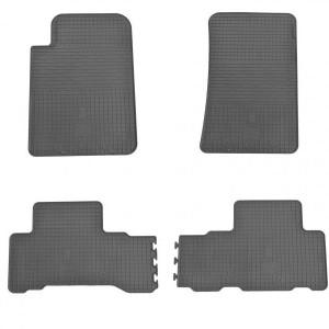 Комплект резиновых ковриков в салон автомобиля Ssang Yong Rexton 2 (1019024)