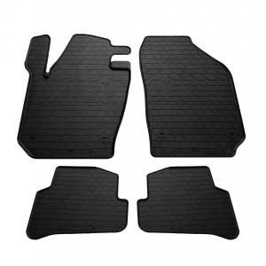 Комплект резиновых ковриков в салон автомобиля Skoda Fabia III 2015- (1020174)
