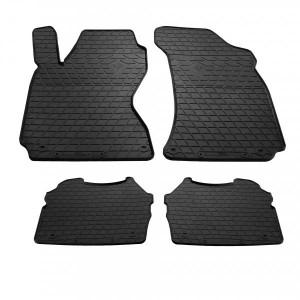 Комплект резиновых ковриков в салон автомобиля Skoda SuperB 2 (1020234)