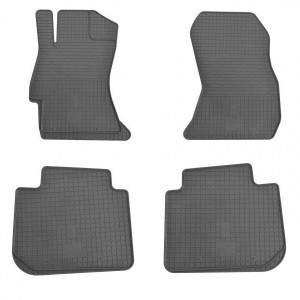 Комплект резиновых ковриков в салон автомобиля Subaru Outback 2009-2014 (1029014)