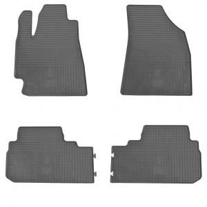 Комплект резиновых ковриков в салон автомобиля Toyota Highlander 2008- (1022054)