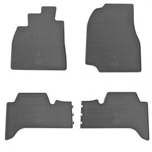 Комплект резиновых ковриков в салон автомобиля Toyota Land Cruiser 100 1998- (1022074)