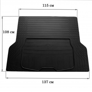 Коврик в багажник (размер L) (3023011)