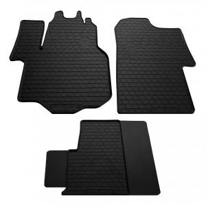 Комплект резиновых ковриков в салон автомобиля VW Crafter 2016- (1024363)