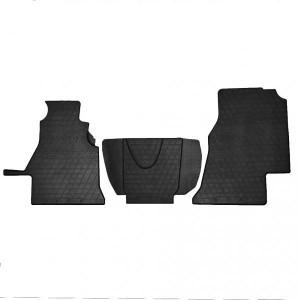 Комплект резиновых ковриков в салон автомобиля Volkswagen LT 2 (1+2) (1012283)