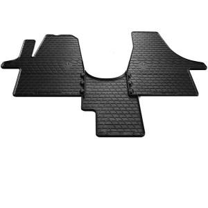 Комплект резиновых ковриков в салон автомобиля Volkswagen T6 (1+1) 2015- (1024273)