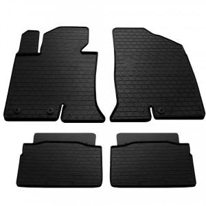 Комплект резиновых ковриков в салон автомобиля Hyundai Sonata YF 2011-2014 (1009374)
