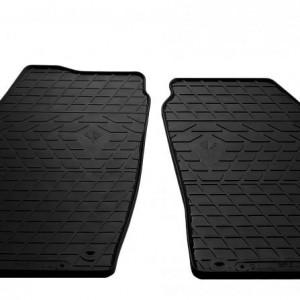 Передние автомобильные резиновые коврики Skoda Fabia II 2007- (1020162)
