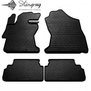 Комплект резиновых ковриков в салон автомобиля Subaru XV 2017- (1029074)