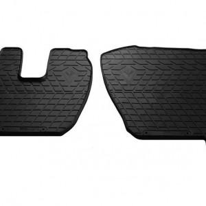 Комплект резиновых ковриков в салон автомобиля Renault Premium 2006-2013 (1043012)