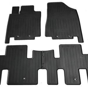 Комплект резиновых ковриков в салон автомобиля Nissan Pathfinder IV (R52) 2013- (1014344)