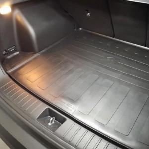 Резиновый коврик в багажник Hyundai Tucson NX4 2021 - (без сабвуфера) (3009011)