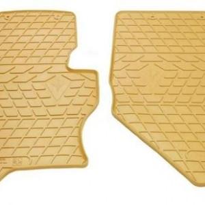 Передние автомобильные резиновые коврики Infiniti FX (s51) бежевые (2033014)