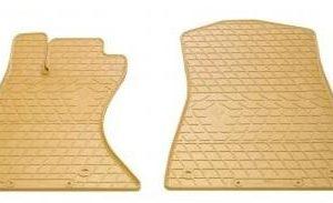 Передние автомобильные резиновые коврики Lexus GS (2WD) 2005- бежевые (2028042)