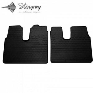 Передние автомобильные резиновые коврики MAN TGX 2007-2020 (1038032)