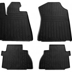 Комплект резиновых ковриков в салон автомобиля Toyota Tundra(Double Cab/Сrew Max Cab) 2014 - (1022534)