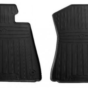 Передние автомобильные резиновые коврики Toyota Tundra(Double Cab/Сrew Max Cab) 2014 - (1022382)