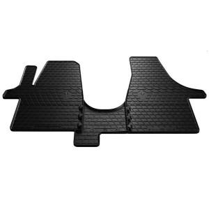 Комплект резиновых ковриков в салон автомобиля Volkswagen T6 (1+2) 2015- (1024263)